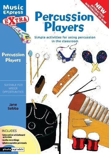 9780713684766: Percussion Players: Simple Ideas for Using Percussion in the Classroom (Music Express)