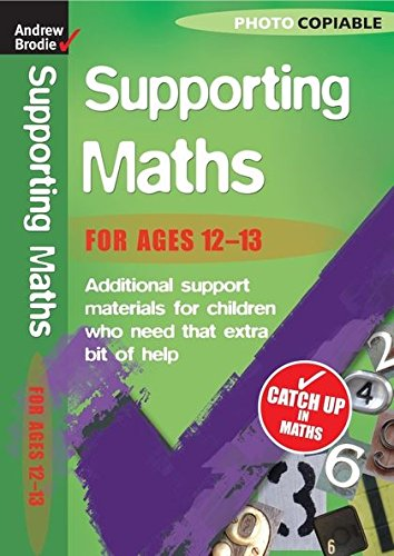 9780713684889: Maths 12-13 (Supporting Maths)