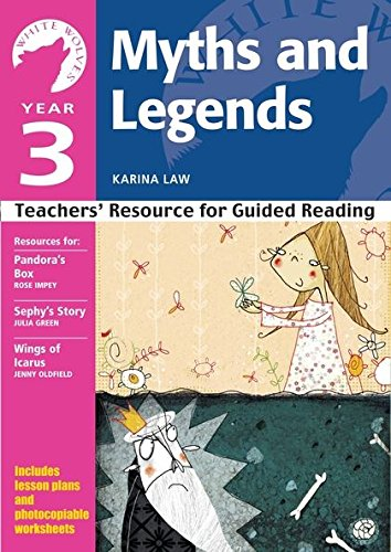9780713685206: Year 3 Myths and Legends: Teachers' Resource for Guided Reading (White Wolves: Myths and Legends)