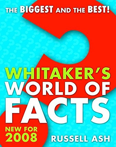 9780713685565: Whitaker's World of Facts 2008