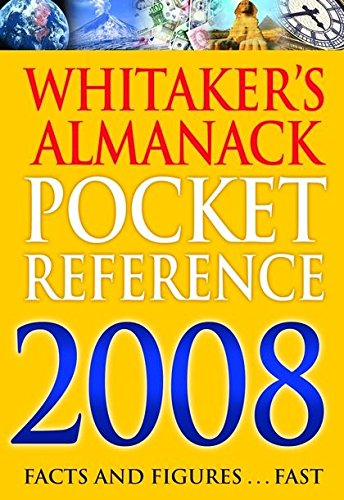 Whitaker's Pocket Reference (Whitaker'S): A & C