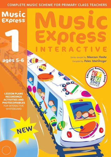 9780713685800: Music Express Interactive - 1: Single-user License: Ages 5-6