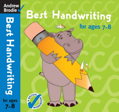 Best Handwriting for Ages 7-8: Brodie, Andrew