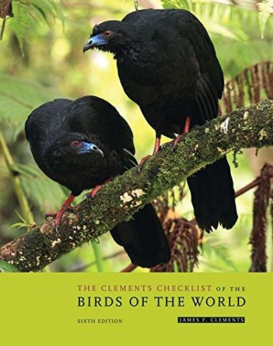 9780713686951: The Clements Checklist of the Birds of the World
