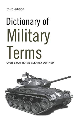 9780713687354: Dictionary of Military Terms: Over 6,000 Words Clearly Defined