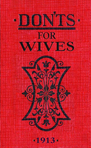 9780713687903: Don'ts for Wives