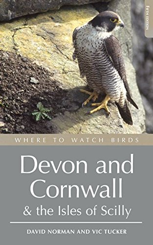 9780713688146: Where to Watch Birds in Devon and Cornwall