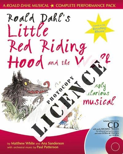9780713692969: Roald Dahl's Little Red Riding Hood and the Wolf Photocopy Licence: For Private Performances Which Require Photocopying of Material (A & C Black Musicals)