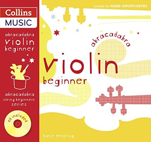 9780713693652: Abracadabra Strings Beginners – Abracadabra Violin Beginner (Pupil's book + CD)