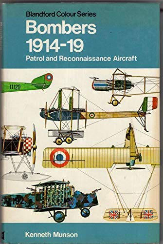 9780713704846: Pocket Encyclopaedia of World Aircraft: Bombers, 1914-19 (Colour)
