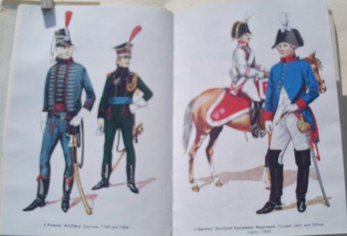 Uniforms of the Napoleonic Wars, 1796-1814 (Colour): Haythornthwaite, Philip J., Cassin-Scott, Jack