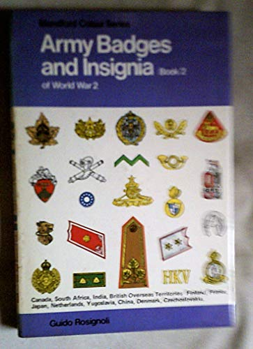 9780713705768: Army Badges and Insignia of World War II (Colour)