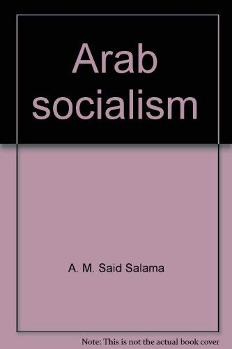 9780713706598: Arab socialism