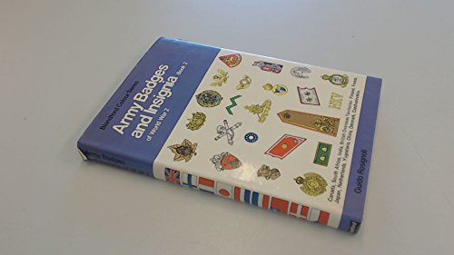 9780713707472: Army Badges and Insignia of World War 2: Bk. 2 (Colour)