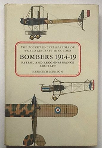 9780713708790: Bombers, Patrol and Reconnaissance Aircraft, 1914-19