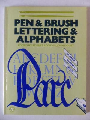 9780713719321: Pen and Brush Lettering and Alphabets