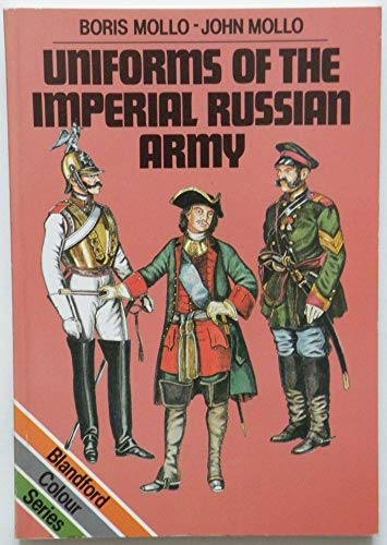 9780713719390: Uniforms of the Imperial Russian Army (Colour)