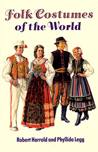 9780713720563: Folk Costumes of the World