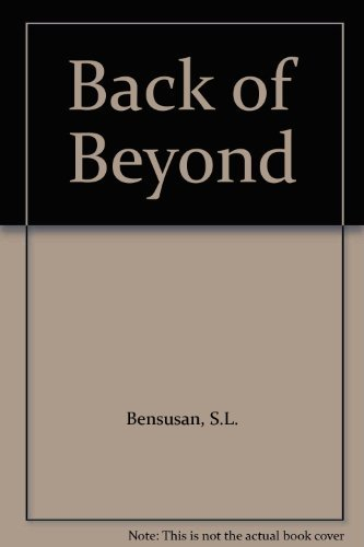 9780713720600: Back of Beyond