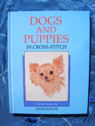 9780713722192: Dogs and Puppies in Cross Stitch
