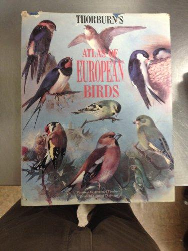 9780713724462: Thorburn's Atlas of European Birds