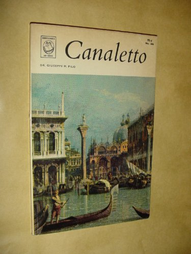 9780713734089: Canaletto (Art)
