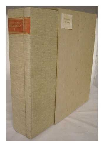 Bibliopola: Pictures and Texts about the Book Trade. Two Volumes (Complete) .: Taubert, Siegfred