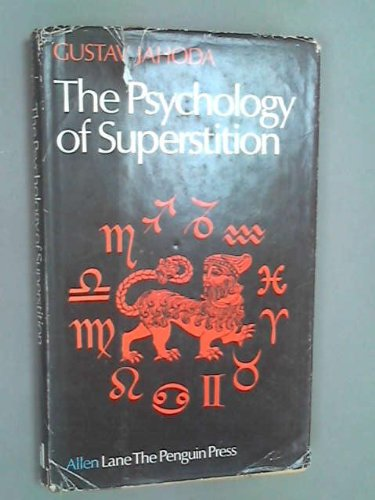 9780713900811: Psychology of Superstition
