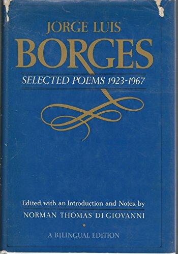 Selected Poems, 1923-1967: Borges, Jorge Luis