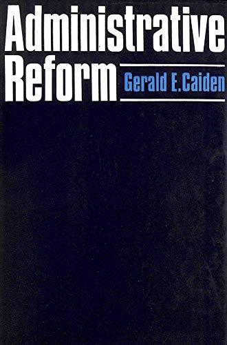 9780713901443: Administrative Reform
