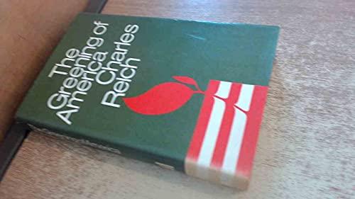 9780713902327: Greening of America
