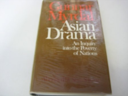 9780713902792: Asian Drama: Enquiry into the Poverty of Nations