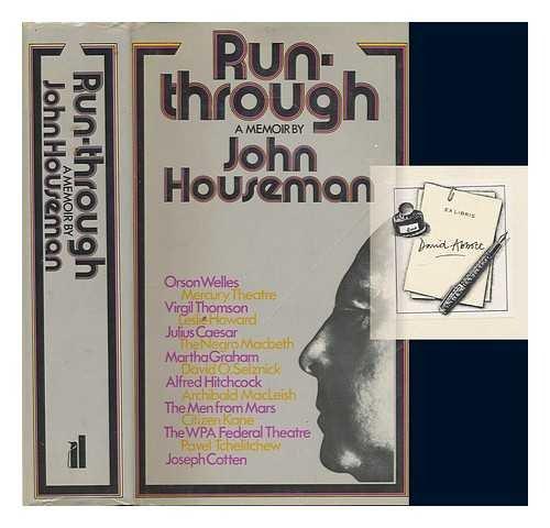9780713903515: Run Through: A Memoir