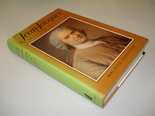 9780713906080: Jean-Jacques: Early Life and Work of Jean-Jacques Rousseau, 1712-54