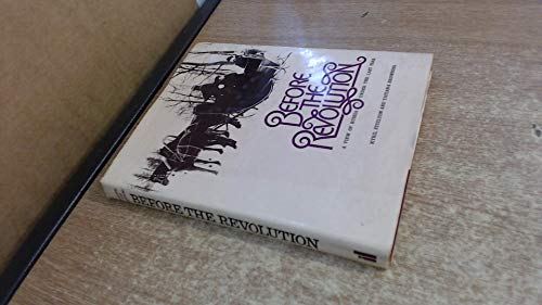 9780713908947: Before the Revolution: View of Russia Under the Last Tsar