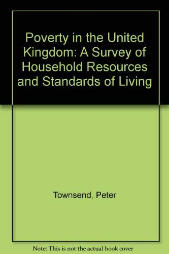 9780713910469: Poverty in the United Kingdom: A Survey of Household Resources and Standards of Living