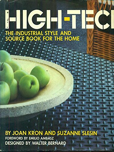 9780713912876: High Tech : The Industrial Style & Source Book for the Home