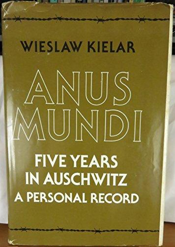 9780713913156: Anus Mundi: Five Years in Auschwitz