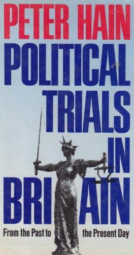 9780713913392: Political Trials in Britain