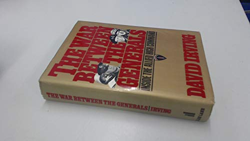 The war between the generals (9780713913446) by IRVING, David
