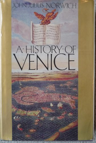 9780713915624: A History of Venice