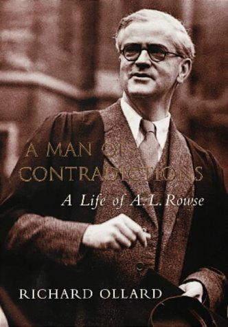 9780713993530: A Man of Contradictions: A Life of A.L. Rowse