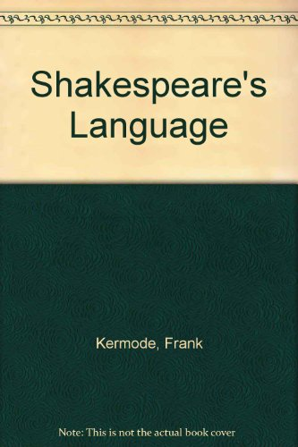 9780713995022: Shakespeare's Language