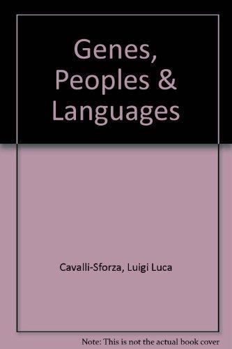 9780713995503: Genes, Peoples & Languages