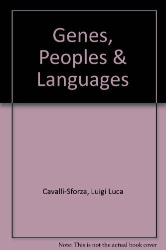 9780713995503: Genes, Peoples, and Languages