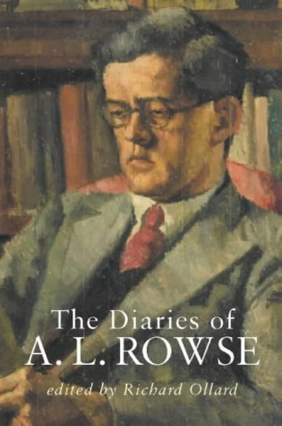 9780713995725: The Diaries of A.L.Rowse