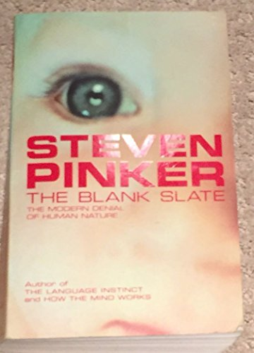 The Blank Slate (Allen Lane Science): Pinker, Steven