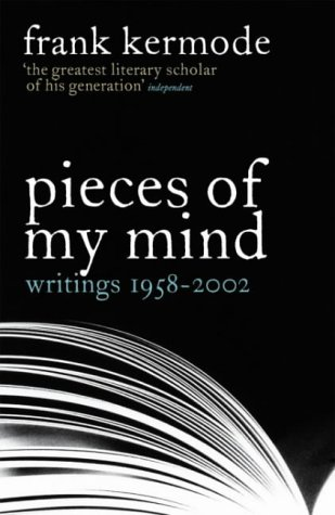 9780713996739: Pieces of My Mind: Writings 1958-2002