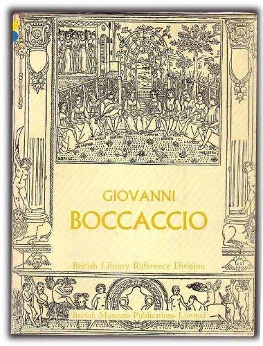 9780714103815: Giovanni Boccaccio, 1313-75