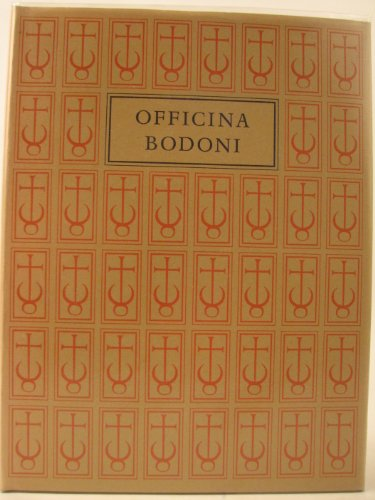 The Officina Bodoni Montagnola. Verona. Books Printed By Giovanni Mardersteig On The Hand Press 1...